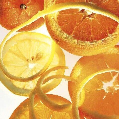 Aromatične kandirane pomarančne lupinice