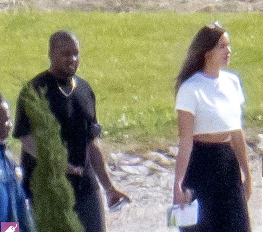 Paparaci so ju ujeli, Irina Shayk in Kanye West sta skupa